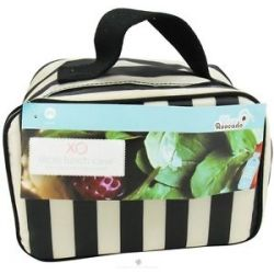 XO Eco Eco Lunch Case Tuxedo Stripe CLEARANCE Priced