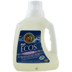 Earth Friendly Ecos Laundry Detergent All Natural Lavender 100 Oz