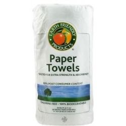 Earth Friendly Paper Towels Extra Strength Two Ply 90 Sheet S