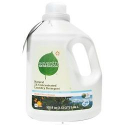 Seventh Generation Natural 2X Concentrated Liquid Laundry Detergent Fresh