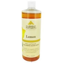 Clearly Natural Natural Hand Wash Liquid Soap Refill Lemon 32 oz Formerly