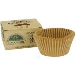 If You Care Jumbo Baking Cups Unbleached Totally Chlorine Free TCF 24 Cup