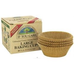 If You Care Large Baking Cups Unbleached Totally Chlorine Free TCF 60 Cup