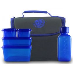 New Wave Enviro Products Lunchopolis Litter Free Lunch Box with Food
