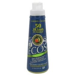Earth Friendly Ecos 4X Opti Strength Concentrated Laundry Detergent Lemongrass