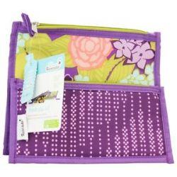 Blue Avocado Fresh Zip Kit Zippered Reusable Lunch Sleeves Purple Lanai Purple