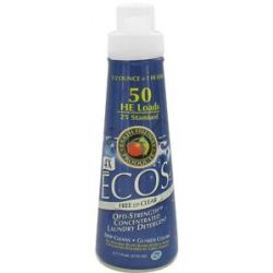 Earth Friendly Ecos 4X Opti Strength Concentrated Laundry Detergent Free And