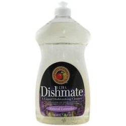 Earth Friendly Dishmate Ultra Liquid Dishwashing Cleaner Natural Lavender 25