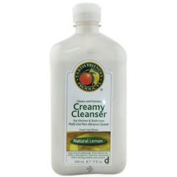 Earth Friendly Creamy Cleanser Multi Use Non Abrasive Cleaner Natural Lemon