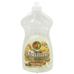 Earth Friendly Dishmate Ultra Liquid Dishwashing Cleaner Natural Almond 25