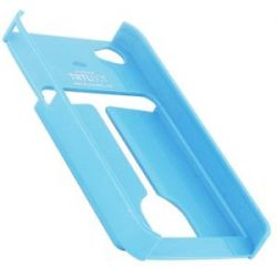 TRTL Bot Minimalist 4 Eco Friendly iPhone 4 4S Shell with Card Holder Blue