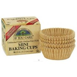 If You Care Mini Baking Cups Unbleached Totally Chlorine Free TCF 90 Cup S
