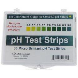 Vaxa Ph Test Strips 30 Strip S