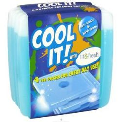 Fit Fresh Kids Cool Coolers 4 Pack
