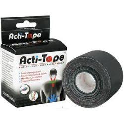 Nutriworks Kinesiology Acti Tape Black 1 Roll S