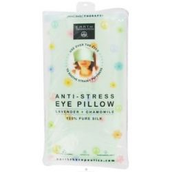 Earth Therapeutics Anti Stress Silk Eye Pillow