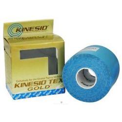 """Kinesio Tex Tape Gold 2"""" w x 16 4' L Blue 1 Roll S"""