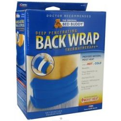 Bed Buddy Thermatherapy Deep Penetrating Back Wrap Navy