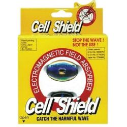 Cell Shield Cellular Phone Em Wave Radiation Blocker 1 Pack
