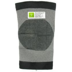 "The Healing Tree Bamboo Charcoal Knee Support Medium Size 6 1 3"" x 9 7 8"""