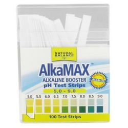 Natural Balance Alkamax Alkaline Booster Ph Papers 100 Strip s Formerly