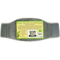 "The Healing Tree Bamboo Charcoal Lower Back Support Size s M Fits 26"" 40"""