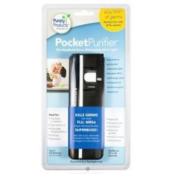 Purely Products Pocket Purifier Handheld Germ Eliminating UV C Light