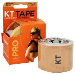 KT Tape Pro Kinesiology Therapeutic Elastic Sports Tape Pre Cut Strips Stealth