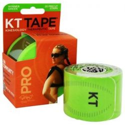 KT Tape Pro Kinesiology Therapeutic Elastic Sports Tape Pre Cut Strips Winner