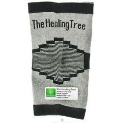"The Healing Tree Bamboo Charcoal Elbow Support Medium Size 5 1 2"" x 9 1 4"" x 4"