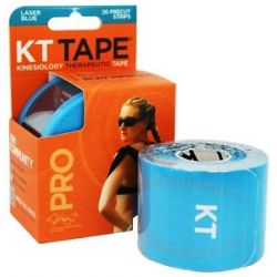 KT Tape Pro Kinesiology Therapeutic Elastic Sports Tape Pre Cut Strips Laser
