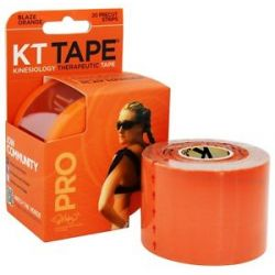 KT Tape Pro Kinesiology Therapeutic Elastic Sports Tape Pre Cut Strips Blaze