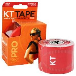 KT Tape Pro Kinesiology Therapeutic Elastic Sports Tape Pre Cut Strips Rage