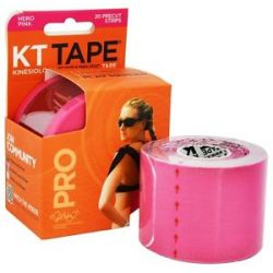 KT Tape Pro Kinesiology Therapeutic Elastic Sports Tape Pre Cut Strips Hero