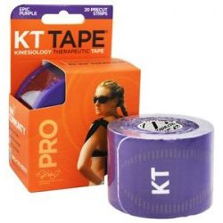 KT Tape Pro Kinesiology Therapeutic Elastic Sports Tape Pre Cut Strips Epic