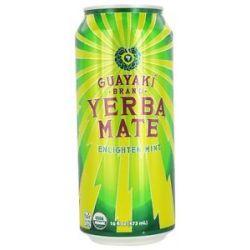 Guayaki Yerba Mate Enlighten Mint 16 Oz