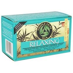 Triple Leaf Tea Relaxing Tea 20 Tea Bags