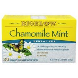 Bigelow Tea Herb Tea Chamomile Mint 20 Tea Bags