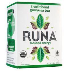 Runa Amazonian Guayusa Traditional 16 Tea Bags