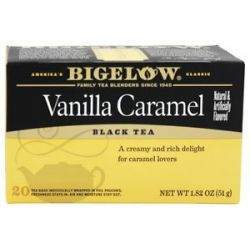 Bigelow Tea Black Tea Vanilla Caramel 20 Tea Bags