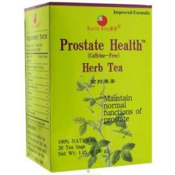 Health King Prostate Health Herb Tea 20 Tea Bags