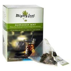 Mighty Leaf Green Tea Marrakesh Mint 15 Tea Bags