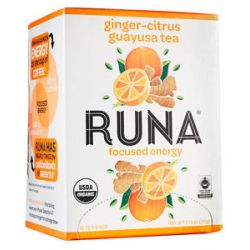 Runa Amazonian Guayusa Ginger Citrus 16 Tea Bags