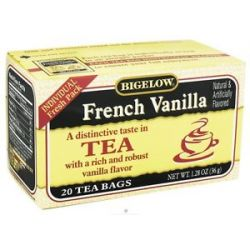 Bigelow Tea Black Tea French Vanilla 20 Tea Bags