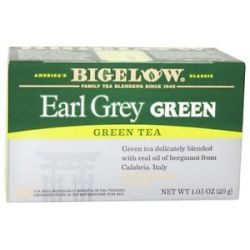 Bigelow Tea Green Tea Earl Grey 20 Tea Bags