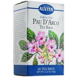 Alvita Pau D' Arco Caffeine Free 24 Tea Bags
