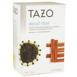 Tazo Black Tea Decaffeinated Chai 20 Tea Bags