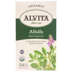 Alvita Alfalfa Leaf Caffeine Free 24 Tea Bags