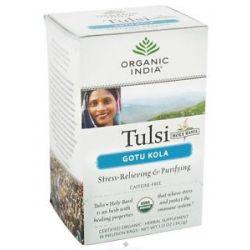 Organic India Tulsi Tea Gotu Kola 18 Tea Bags