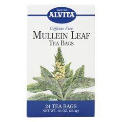 Alvita Mullein Leaf Caffeine Free 24 Tea Bags